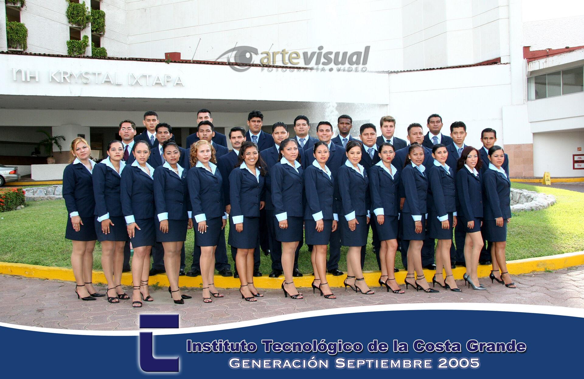 Grupo del Instituto Tecnológico de la Costa Grande